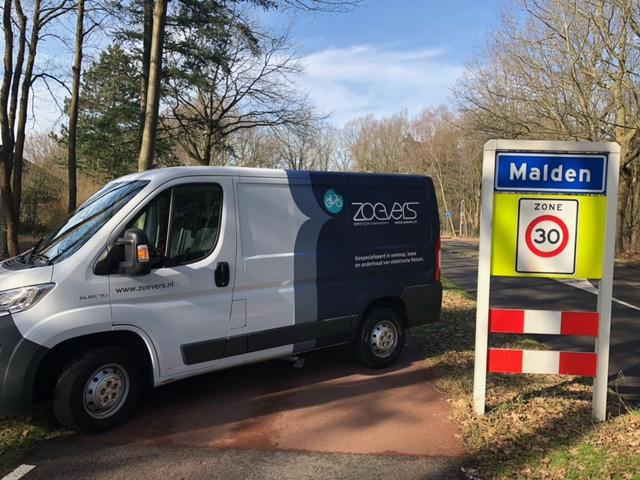 Elektrische fietsen specialist in regio Malden